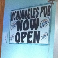 Photo taken at Mcmonagles Irish Pub by Alex on 8/17/2012