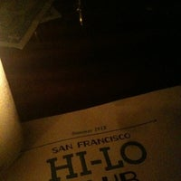 Photo taken at Hi-Lo Club by Fiona S. on 8/26/2012