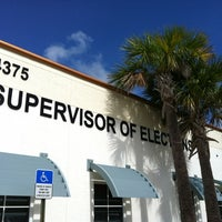 Photo taken at Supervisor Of Elections by David T. on 8/4/2012