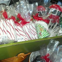 Photo taken at Little Flower Candy Company by Frances M. on 12/20/2011