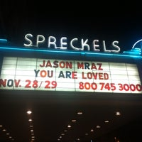 Photo taken at Spreckels Theatre by Clarice M. on 11/30/2011