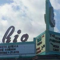 Photo taken at Rio Theatre by Matthew R. on 3/9/2011