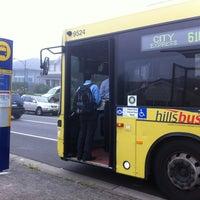 Photo taken at Bus stop T63 Meurants lane by Taufan E. on 4/2/2012