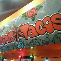Photo taken at Chronic Tacos by Carlos M. on 4/14/2012