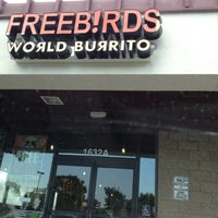 Photo taken at Freebirds World Burrito by Daniel A. on 8/16/2012