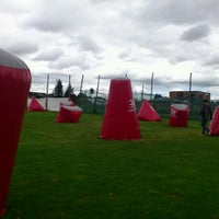 Photo taken at Campo De Paintball Monteperla by Alexander S. on 7/8/2012