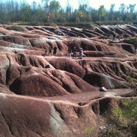 Photo taken at Cheltenham Badlands by Amanda B. on 10/8/2011
