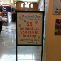 Photo taken at You Say When Yogurt Shoppe At Westshore Plaza by Amanda M. on 11/27/2011