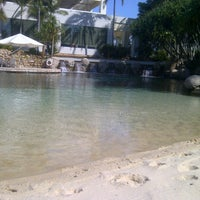 Photo taken at Lagoon & Pool by Leon B. on 8/28/2012