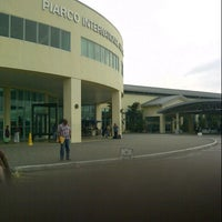 Photo taken at Piarco International Airport (POS) by Jason J. on 6/30/2012