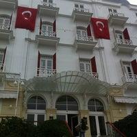 10/29/2011 tarihinde shirleycurlyziyaretçi tarafından Splendid Palas Hotel'de çekilen fotoğraf