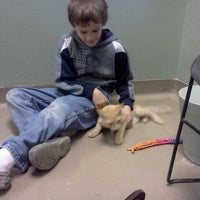 Photo taken at Young Williams Animal Shelter by Jenn J. on 10/7/2011