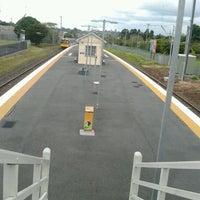 Photo taken at Wynnum Railway Station by Karina L. on 11/4/2011