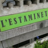 Photo taken at L'Estaminet by Gabriel G. on 5/31/2012