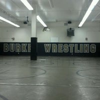 Photo taken at Burke High School by Cami L. on 1/23/2012