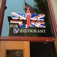 Photo taken at Union Jack Pub & Restaurant by Steven on 6/28/2012