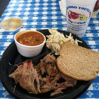 Photo taken at Pig N Chik BBQ by Albert B. on 5/23/2012
