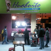 Photo taken at Huahuito Burger by Vj G. on 8/18/2012