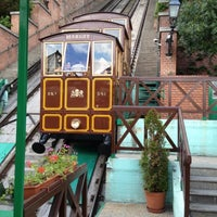 Photo taken at Buda Castle Hill Funicular by Robert S. on 6/15/2012