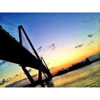 Photo taken at Arthur Ravenel Jr. Bridge by Josh M. on 4/21/2012