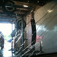 Photo taken at Shine Express Car Wash by Fischer Real Estate Services on 6/10/2011