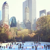 Photo taken at Wollman Rink by kate spade new york on 11/5/2011