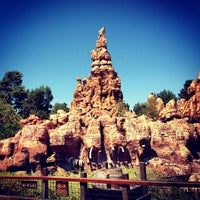 Photo taken at Big Thunder Mountain Railroad by Marcus A. on 8/24/2012