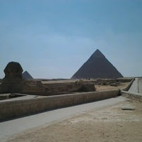 Photo taken at Great Sphinx of Giza by Eugene on 8/15/2012