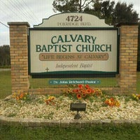 Photo taken at Calvary Baptist by Kelly O. on 1/8/2012