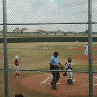 Photo taken at Waxahaxchie Sports Complex by Cassi R. on 9/18/2011