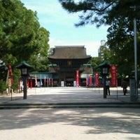 Photo taken at Hakozakigu Shrine by Seiji O. on 10/31/2011