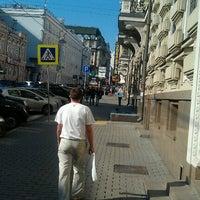 Photo taken at Bolshaya Dmitrovka Street by Dmitry V. on 9/12/2012