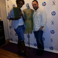 Photo taken at Style Coalition Lounge by ChristeneCarr on 4/17/2012