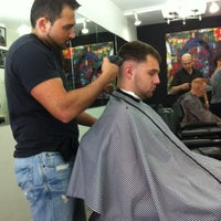 Photo taken at Michael's Today's Barber Shop by Joey C. on 5/6/2012