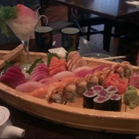 Photo taken at Fuji Sushi by Christopher F. on 7/8/2012