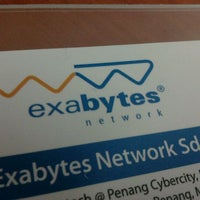 Photo taken at Exabytes® Network Sdn Bhd by Chuckie C. on 10/5/2011