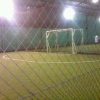 Photo taken at Indoor Futsal Taman Sari Persada by dwi purnomo n. on 9/7/2011