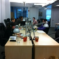 Photo taken at Grooveshark NYC HQ by Jesse L. on 11/29/2011
