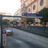Photo taken at Parking San Antonio by Manuel L. on 7/24/2012