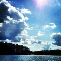 Photo taken at Голубые Озера / Blue Lakes by Maks F. on 7/17/2012