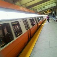 Photo taken at MBTA Wellington Station by Олег Г. on 8/1/2012