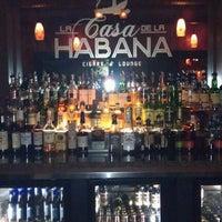Photo taken at La Casa De La Habana Cigar Bar by Atiim on 5/12/2012