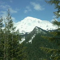 Photo taken at Mount Rainier National Park by Brennan K. on 5/11/2011