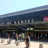 Photo taken at Nantes Railway Station by MikaelDorian on 7/1/2011