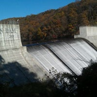 Photo taken at Loch Raven Dam by Lin C. on 11/5/2011