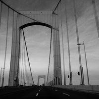 Photo taken at Throgs Neck Bridge by Leah N. on 10/28/2011
