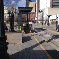 Photo taken at TRAX Courthouse by Cameron K. on 2/23/2012