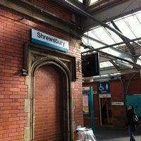 Photo taken at Shrewsbury Railway Station (SHR) by Mohiddin B. on 10/7/2011