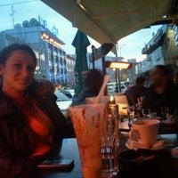 Photo taken at Nova Caffe by Tina Alsaud on 12/18/2011