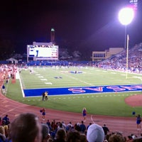 Photo taken at Memorial Stadium by Jayme E. on 10/16/2011